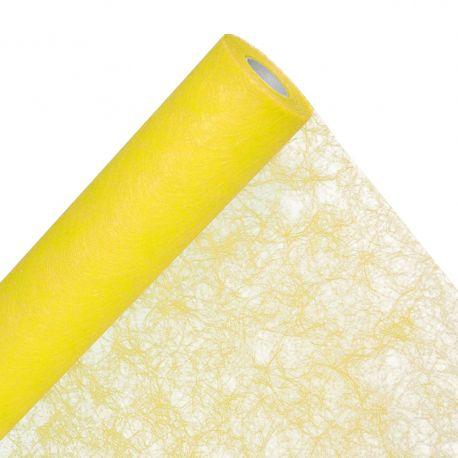 Emballage fibre jaune 60 cm x 50 m