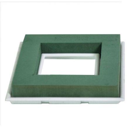 Mousse OASIS déco de table carré x 2 pièces