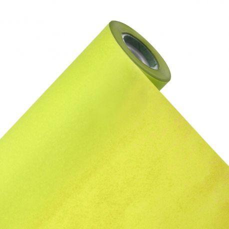 Emballage soie vert anis 31gr 75 cm x 100 m