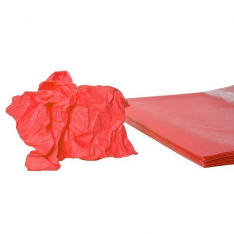 Rame mousseline 18gr rouge 50x75 cm x 240 feuilles