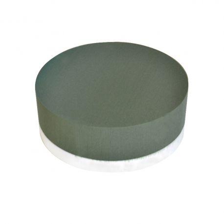 Coussin mousse EDEN fond polystryrène D 33cm H8cm Lot de 2