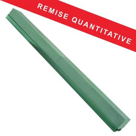 Raquette mousse verte base plastique 120 cm EDEN