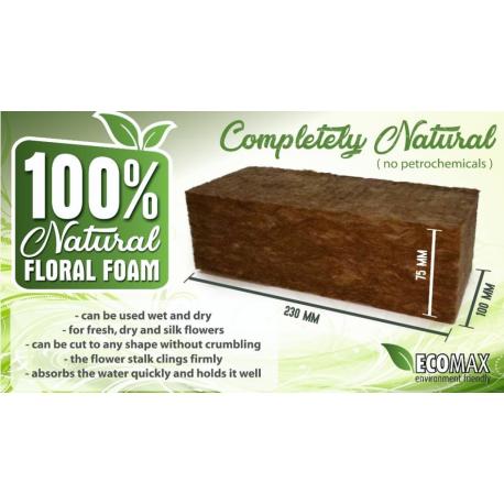 Carton de 20 brique de mousse 100% naturelle - 23x10x7.5 cm AGRAWOOL
