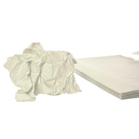 Rame mousseline 18gr blanc 50x75 cm x 240 feuilles
