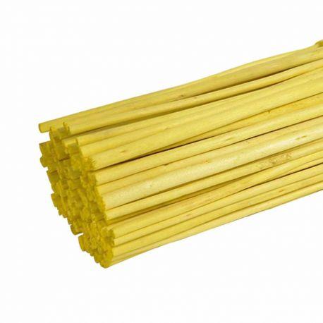 Branches de jute jaune : H 1 m x 100 pièces