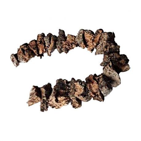 Guirlande d'écorce de bois 1M