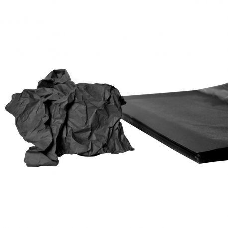 Rame mousseline 18gr noir 50x75 cm x 240 feuilles