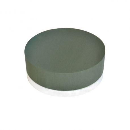 Coussin mousse EDEN fond polystyrène D 29cm H8cm Lot de 2