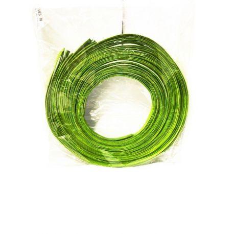 Rouleau de rotin plat Vert pomme 18mm x 250gr