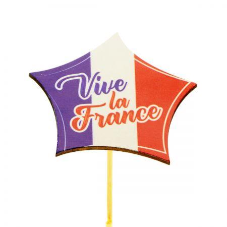 """Pique """"Vive la France"""" -..."""