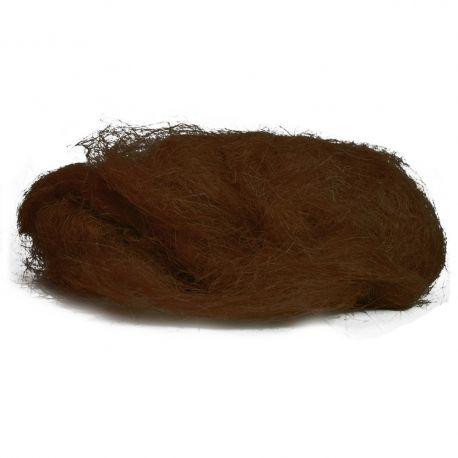 Sisal couleur marron 500 g