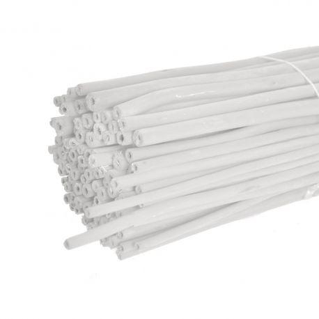 Branches de jute blanc : H 1 m x 100 pièces