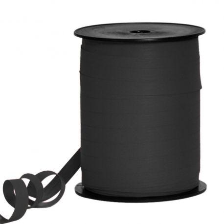 Bolduc papier couleur noir 10 mm x L 250 m