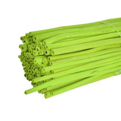 Branches de jute vert  : H 1 m x 100 pièces