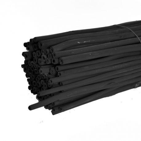 Branches de jute noir  : H 1 m x 100 pièces