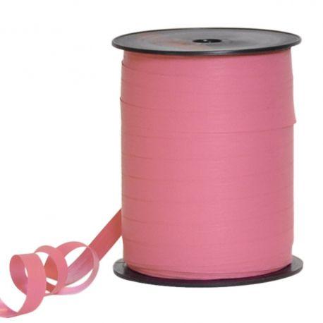 Bolduc papier couleur rose fluo 10 mm x L 250 m